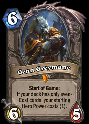 Genn Greymane Card Image
